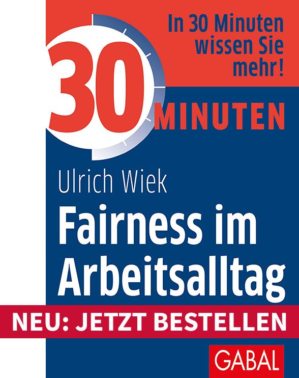 Fairness im Arbeitsalltag